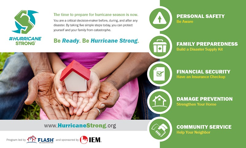 #HurricaneStrong FLASH ad in English