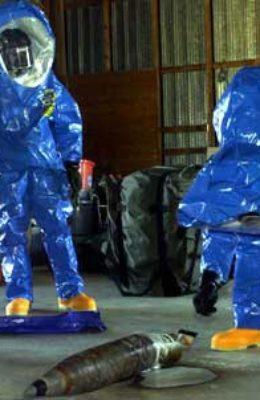 chemical bio-hazard incident