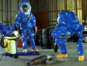 chemical bio-hazard incident