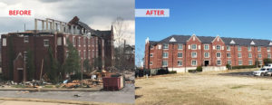 IEM Disaster Recovery Expert Helps Restore His Alma Mater After EF3 Tornado Hits