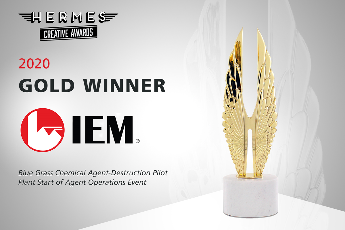 IEM Wins Gold in International Competition for Creative Professionals