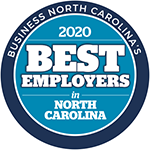 2020 Best Employers in NC Logo