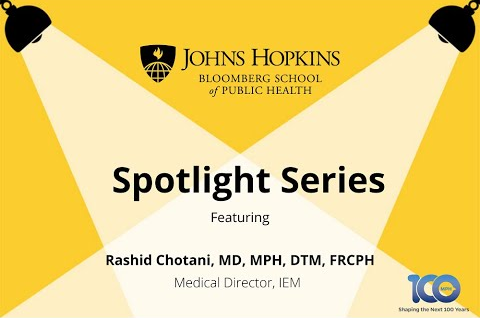 JHU Spotlight Series - COVID-19 and Seasonal Influenza:  Preparing Hospitals and Vaccinating Patients, Part I