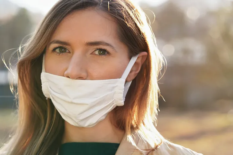 The Face Mask Mistakes People Make Without Realizing It