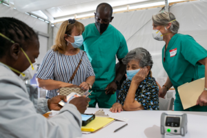 COVID vaccines now available at walk-up Overtown site