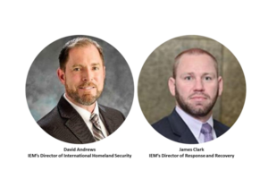 Two Expert Emergency Managers Join IEM to Advance Response and Recovery Efforts