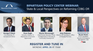 State and Local Perspectives on Reforming CDBG-DR – 4/26/21